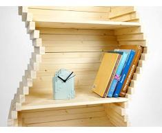 Bibliothèque de vagues - decoration enfant chambre etagere-s personnalisable meuble rangement la bibliotheque murale vague petit-e