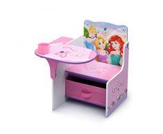 Delta Children - TC85849PS - Princesse - Chaise avec Tablette