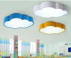 Lampe pour chambre d'enfant Baby Lampe Nuages Lampe LED lumière lampe enfants Cloud Plafonnier Plafonnier Wolke Chambre d'enfant Lampe enfants Chambre lampe chambre chambre lampe à intensité variable