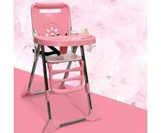 Axiba Portable chaise haute pliante bébé à manger table et chaises multifonctions pour enfants Dîner table réglable de fichier