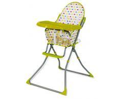 Chaise haute pliante Baby Fox Quick Voiture - Vert
