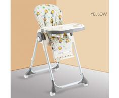 Lumière Multifonctionnelle Pliante Bébé Chaise À Manger Réglable Chaise Bébé Table À Manger Et Chaise 79 * 60 * 104 Cm
