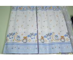 Babies Paradise Rideaux pour chambre d'enfant avec passants 150 x 100 cm