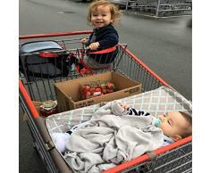 Yiwa Hamac portable de bébé portatif pour le trolley de chariot à provisions