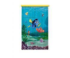AG design fCC l/4108 rideau voilage pour chambre d'enfant motif disney nemo
