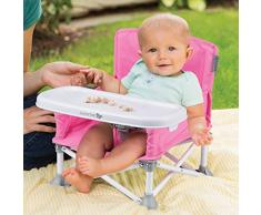 Summer Infant POP'N SIT™ - Siège Pliante / Chaise Haute (Couleur: Rose)