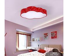 GQLB Chambre d'enfant Lustre moderne simple Garçon Fille chambre à coucher Creative feux lumière Nuages lumière maternelle 520MM