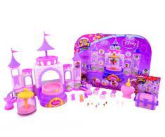 Glitzi Globes – Disney Princess – Château des Princesses – Kit de Création de Boules à Neige