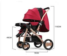 Chariot à chariot bébé peut être assis Chariot bébé Chariot porte-bébé à quatre roues pliant Baby Bb Push Baby Carriage ( Couleur : A5 )