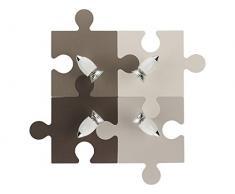 Nowodvorski Applique puzzle pour enfant (4GU10). Réf. 6382, marron