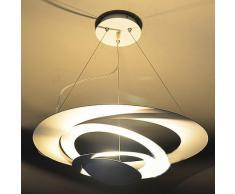 En Métal Blanc UFO forme salle à manger Plafonnier Pendentif lampe pendentif contemporain de salle à manger chambre lampe lustre Enfant une salle d'étude Fixations