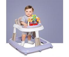 bébé marcheur poussette chariot 7-18 mois bébé Prévenir rollover multifonction enfant pliable Grand châssis réglage troisième engrenage sécurité ( couleur : #4 )