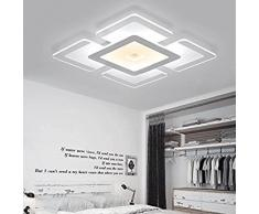 CHJK BRIHT Retro American Village petit plafond lumineux pour le séjour la chambre la cuisine de l'hôtel bureau chambre d'enfant Lustre Plafonniers Création lumière LED plafonnier fer crystal 490*325mm