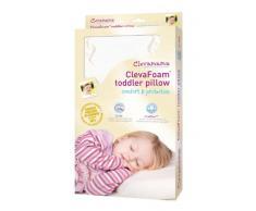 Clevamama ClevaFoam Oreiller Enfant - Coussin Anti-plagiocéphalie Nourrisson (+ 12 mois)