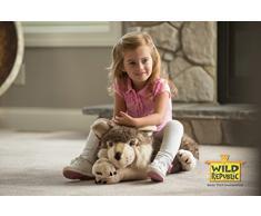 Wild Republic - 82332 - Peluche - Floppies - Loup - 76 cm