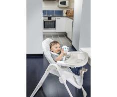 Badabulle Chaise Haute Easy Bébé Pliante Réglable Inclinable