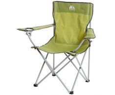 Eurohike haute Chaise pliante, Vert, Taille Unique