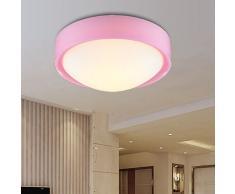 Lampes LED Rose Acrylique plafond cuisine plafond Lampe simple salle de bain Balcon plafond lumières plafonnier chambre enfant