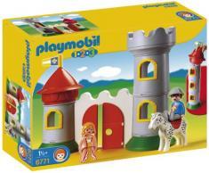 Playmobil - 6771 - Jeu de construction - Château avec couple princier
