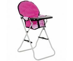 Toyrific TY3442 Snuggles Chaise haute pliante Accessoire pour poupées