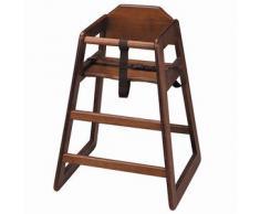 Chaise haute en bois, nourrisson ou enfant de la chaise haute bébé, idéal pour une utilisation commerciale ou domestique