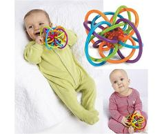 Bébé jouet de Dentition Dents Hochet Jouet Bébé Enfant Poussée Dentaire