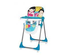 Chaise haute pliante Baby Fox Kimono Bleu