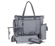 Babymoov Essential Bag Smokey Sac à Langer Quotidien Complet avec Bandouilière