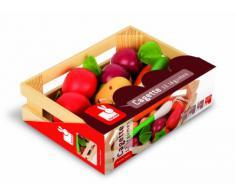 Janod - J05611 - Accessoires de cuisine - Cagette 12 Légumes