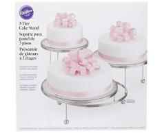 Wilton CakesNMore Présentoir à gâteaux 3 niveaux