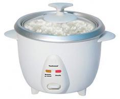 Techwood TCR-102 Cuiseur à riz, 400 W, Blanc