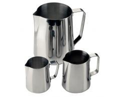 Pot à lait ou eau 2.2 Ltr / capacité de 77 onces En acier inoxydable. (Livré à l'unité).