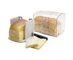 Breadkeeper Avec Un Guide De Coupe Pour Stocker Pain (pack de 2)