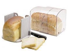 Breadkeeper Avec Un Guide De Coupe Pour Stocker Pain