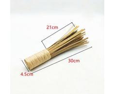 Ounona Bambou Wok Brosse Fouet Pot Brosse Nettoyage des outils de cuisine de ménage