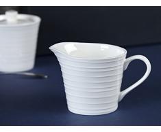MIKASA Pot à Lait, Porcelaine, Blanc, 11 x 20 x 20 cm
