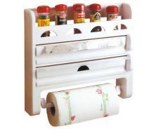 Toyma réf. : 555 Porte-rouleaux de cuisine avec étagère à épices