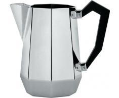 A di Alessi Ottagonale Pot à lait en acier Inoxydable 18/10 avec poignée en bakélite