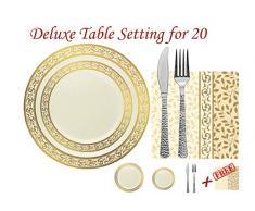 vaisselle jetable acheter vaisselle jetable en ligne sur livingo. Black Bedroom Furniture Sets. Home Design Ideas