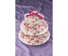Culpitt Présentoir à gâteaux en carton - 3 étages