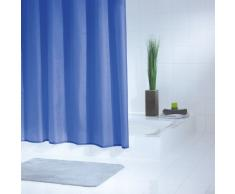Ridder Standard Uni 314330-350 Rideau de douche avec oeillets Bleu 240 x 180 cm
