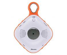 Roadstar SRA de 2110 C FM Radio de Douche Ventouse (émetteur Recherche, Large, étanche IPX 4 Norme, réveil)