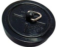 Specialist SB1701 Bouchon de baignoire et dévier Noir