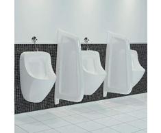 N/O Profitez de Vos achats avec Brise-Vue pour urinoir Mural Céramique Blanc