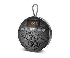 ADE BR1703-1 Radio de Douche Bluetooth avec Radio & Réveil - IPX5