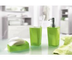 Kleine Wolke 5061645853 Easy Porte Savon Plastique Vert