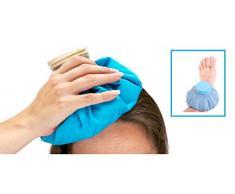 Bouillotte Poche Chaude Froide Cont : 1,6l. Micro ondes Adulte Enfant. Véritable Astuce et Solution Anti Froid Anti Chaud.