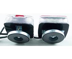 Kit à éclairage LED avec fixation magnétique pour remorque