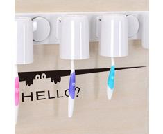 ufengke® Caricature Style Bonjour Visage Créatifs Stickers Muraux, Laptop Armoire Toilette Salle de Bains Décalcomanies Murales Autocollants Amovibles