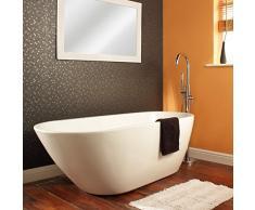 HUDSON REED - Baignoire Ilot Design Asymétrique Monobloc 167 x 73cm Acrylique 165L